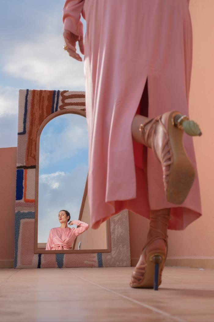 Her Jacquemus sandals
