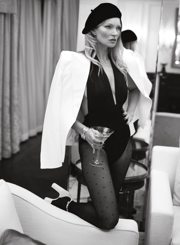 Kate Moss photographed by Mert and Marcus in 2020