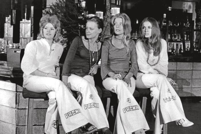 Clubbers at Pacha's original Sitges site, 1967