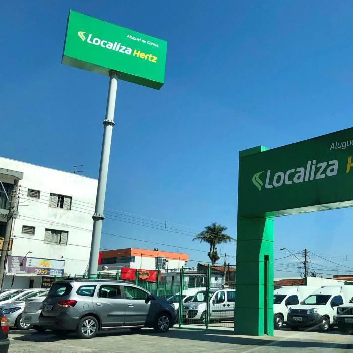 . . . and car hire firm Localiza
