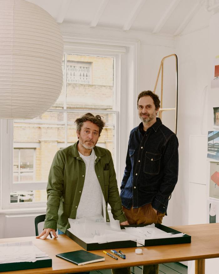 'I guess you could say we're restless': Osgerby (left) on the breadth of their work
