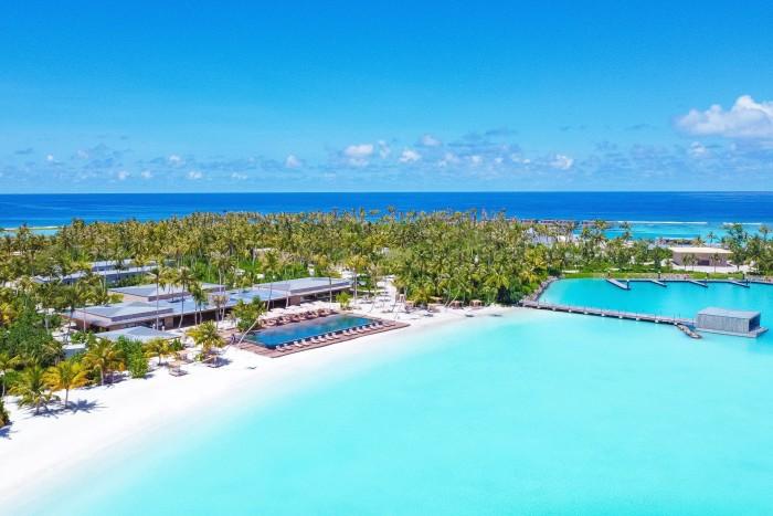 Patina Maldives resort inthe Fari Islands
