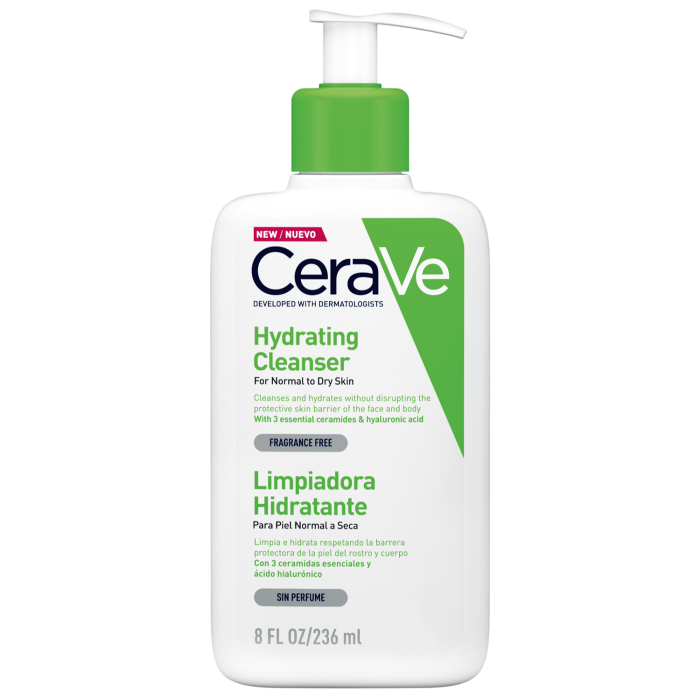 Cerave Hydrating Cleanser, £9.50, from Boots