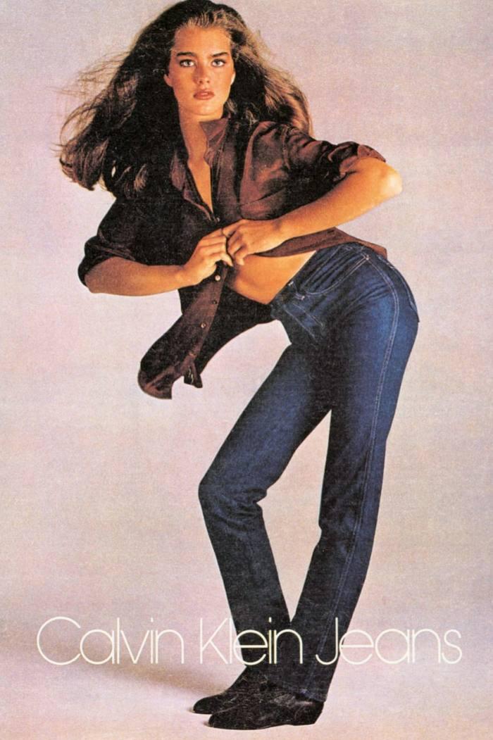 Brooke Shields for Calvin Klein Jeans, 1980