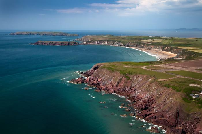 Marloes Sands is one of the highlights of the Pembrokeshire Coast Path