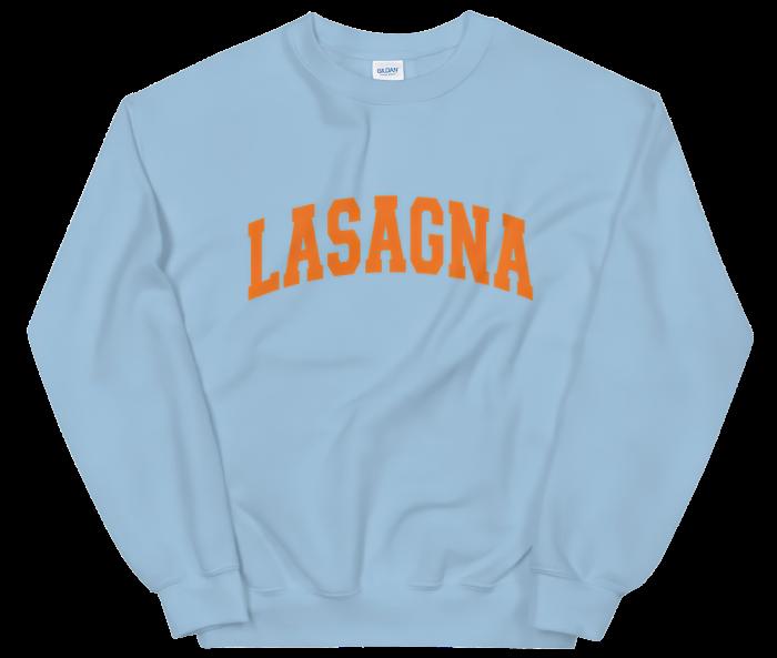 Novel Mart Lasagna sweatshirt, £45