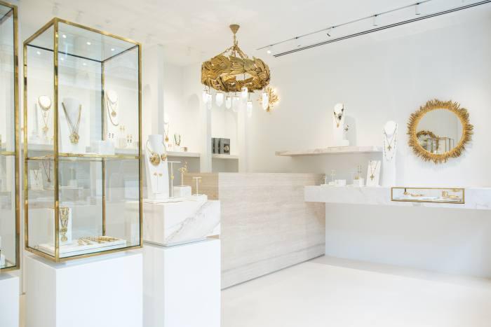 The new Goossens boutique in Burlington Gardens, London W1