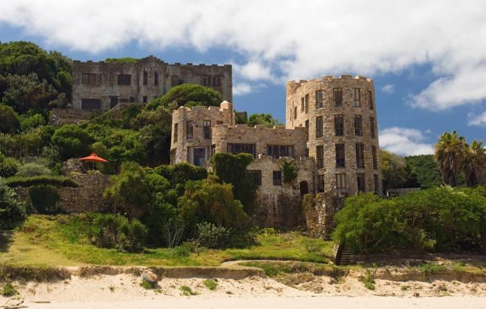 The Knysna Castles on Noetzie Beach, South Africa