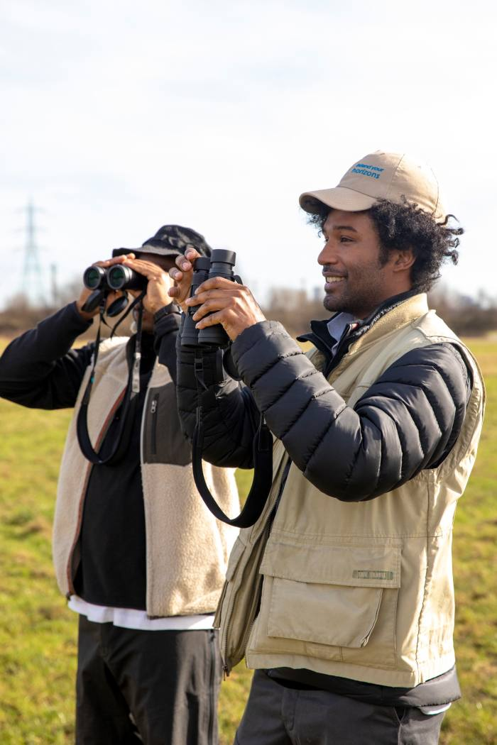 Perera discovered birdwatching in east London aged 15