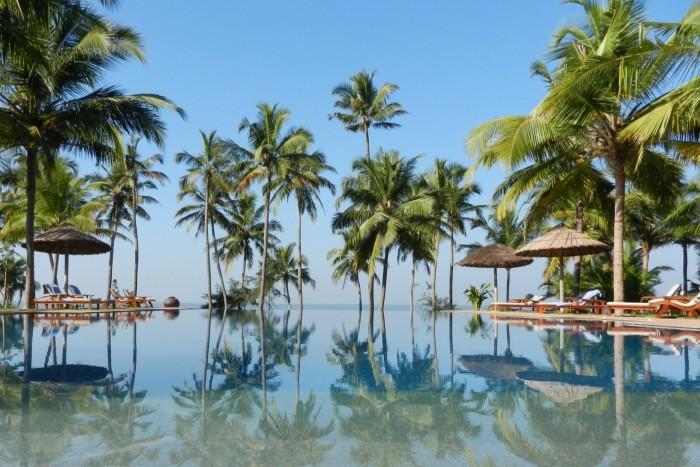 """Very pretty"": the infinity pool at Neeleshwar"