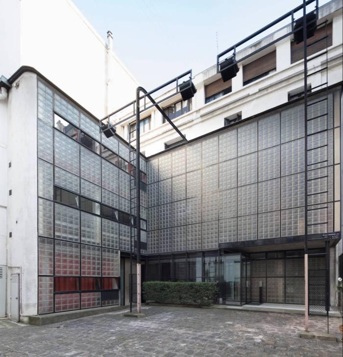 The Maison de Verre in Paris, owned by Robert M Rubin
