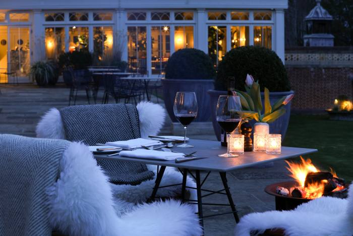 Marle restaurant at Heckfield Place