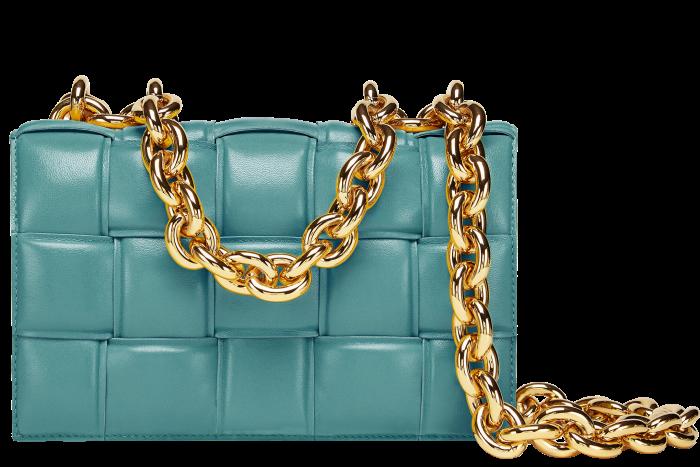 Bottega Veneta leather Chain Cassette handbag, £2,800