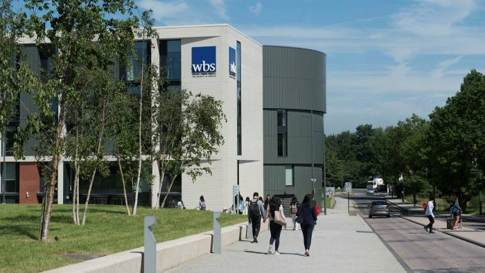 Warwick Business School is number one in the FT Online MBA 2021 ranking