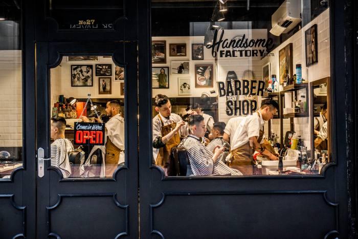 Handsome Factory Barbershop, Hong Kong
