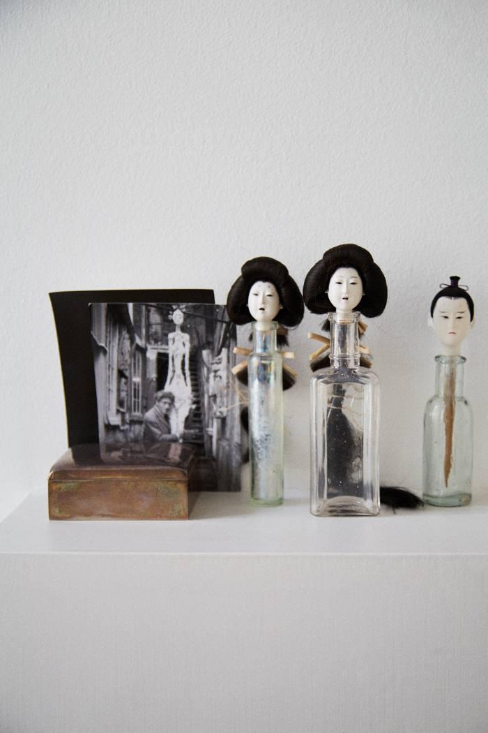"Yokoyama's Japanese ""bottle dolls"""