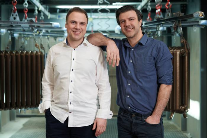 Nick, left, and Adam Baylis realised the company's culture needed to change