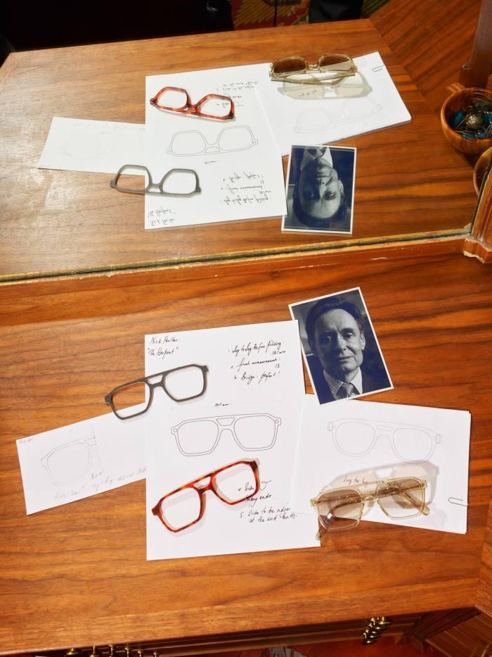 Bespoke glasses start at £1,500