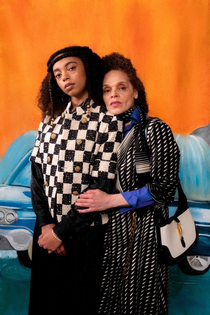 Lisa Elde and her daughter Djenaba (aka Damsel Elysium) for A Vibe Called Tech & Roundtable x Gucci