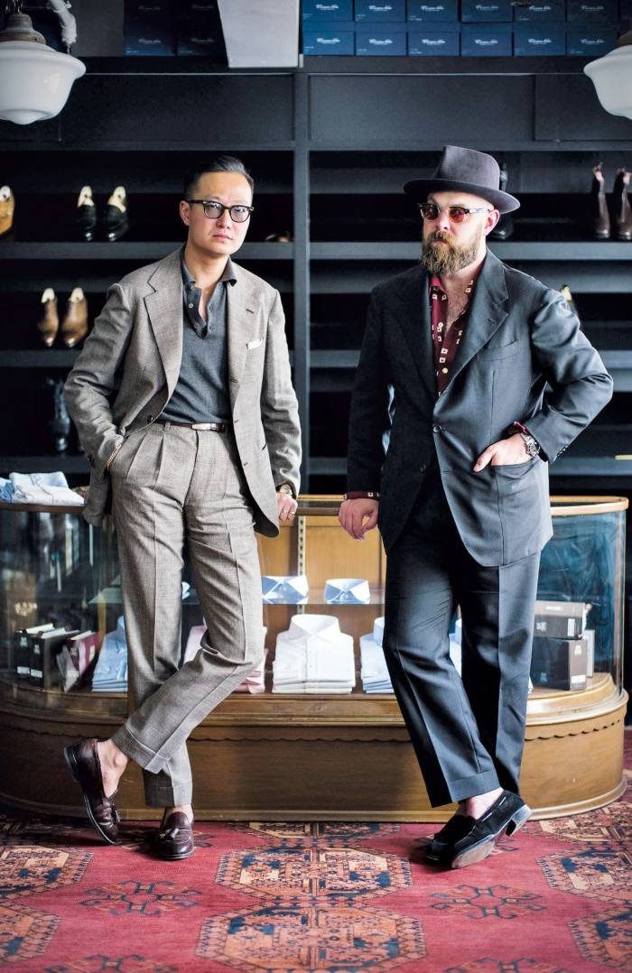 Bryceland's & Co co-founders Kenji Cheung and Ethan Newton