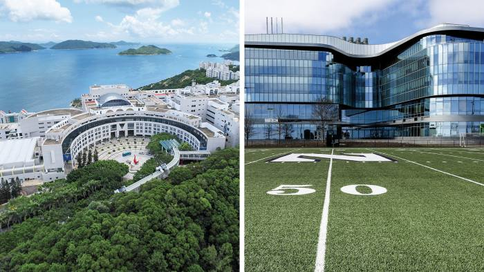 Double top: HKUST (left) and Kellogg which jointly run the EMBA ranked number one in 2020