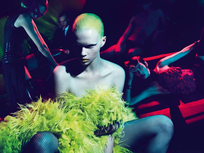 Alyona Subbotina photographed by Mert and Marcus in 2011
