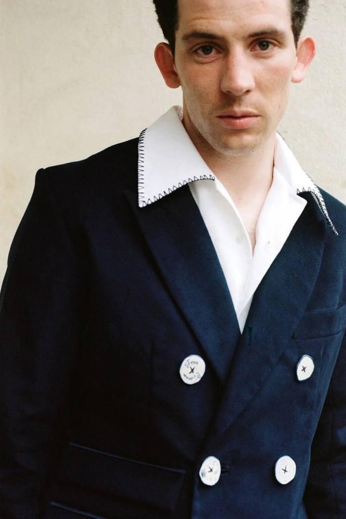 Josh O'Connor in his custom SSDaleyjacket