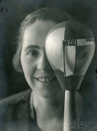 Sophie Taeuber-Arp in 1920