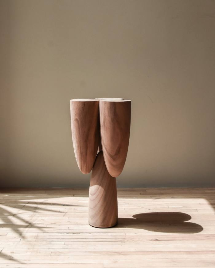 Copal Side Table by Ewe Studio