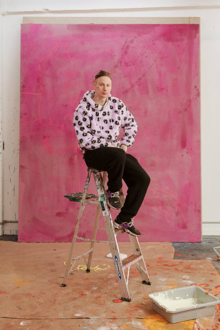 The German-born artist is preparing for a solo show in London