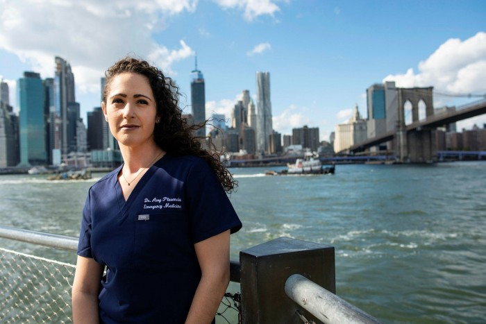 Amy Plasencia, an emergency medicine resident at Brookdale medical centre