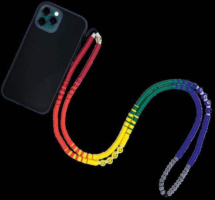 String Ting Happy Days crossbody phone strap,£80, stringting.com