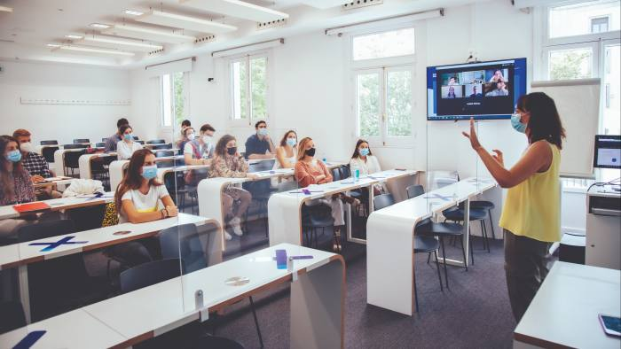 IE Business School in Madrid offers both campus and online courses
