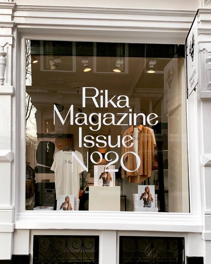 Rika – a clothes brand and, outside of the pandemic, a hotel