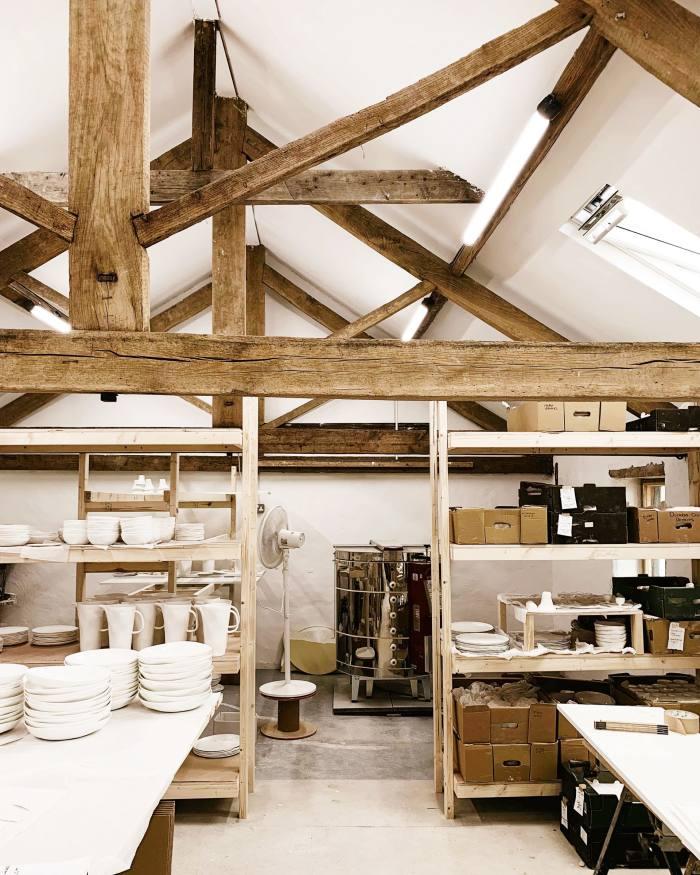 Jeremy and Cath Brown's Feldspar ceramics studio in Devon