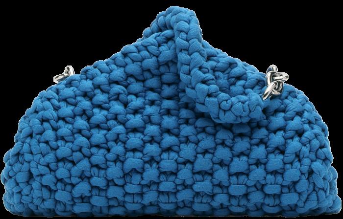 Bottega Veneta Bluette chunky knit bag,£2,090