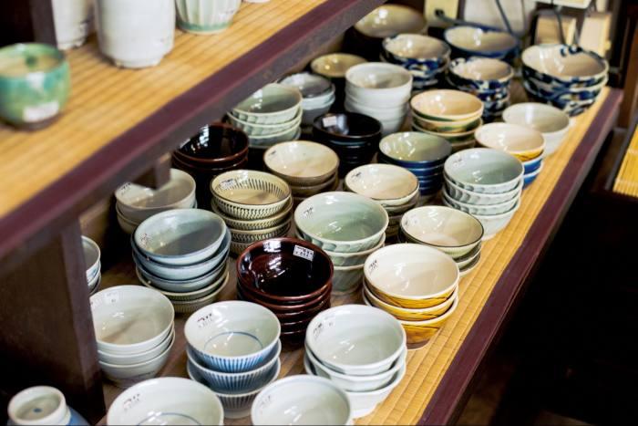 Ceramics at Bingoya