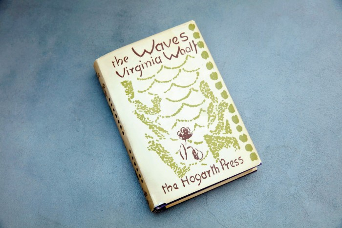 His first edition of The Waves signed by Virginia Woolf