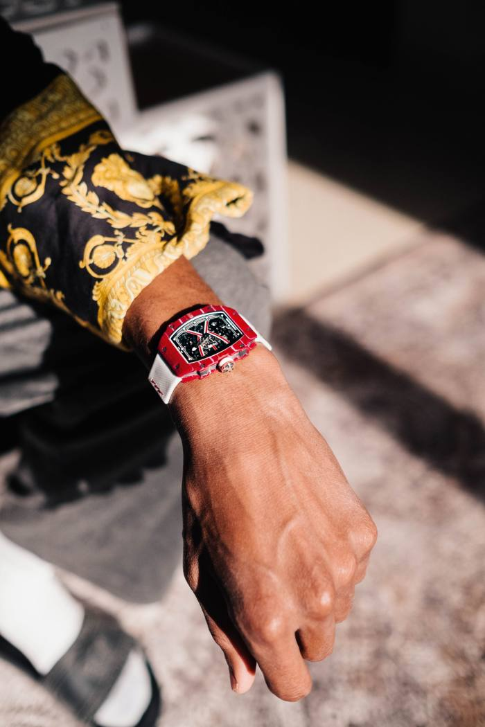 Barshim's RM 67-02 Automatic Mutaz Barshim watch, designed forhim