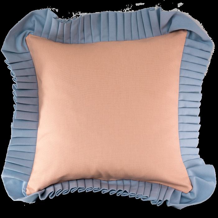 In Casa by Paboy Ruffle cushion, €90, incasabypaboy.com