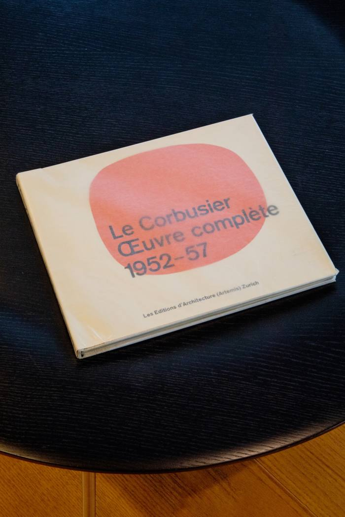 The last thing Ando bought and loved: a Le Corbusier monograph