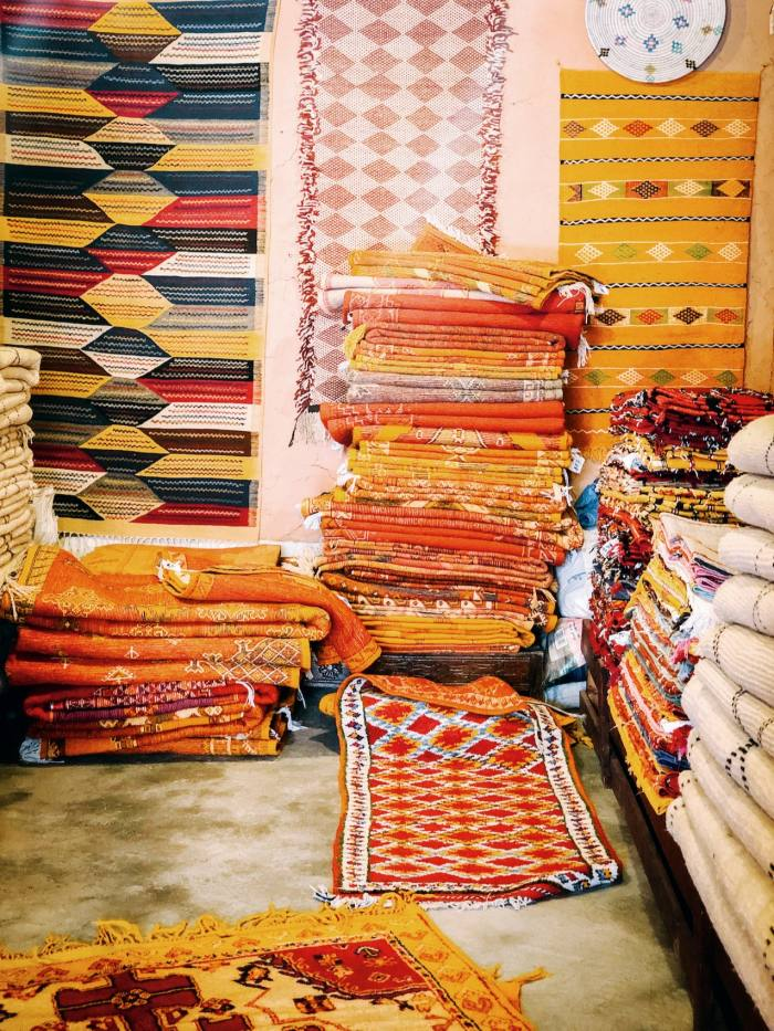 Salam Hello in New York sources rugs from a women-only collective