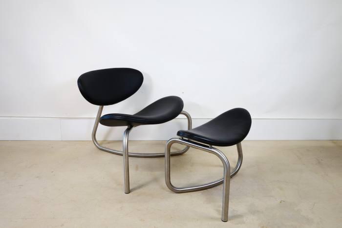 Erik Magnusse yoga chair and stool, £1,185