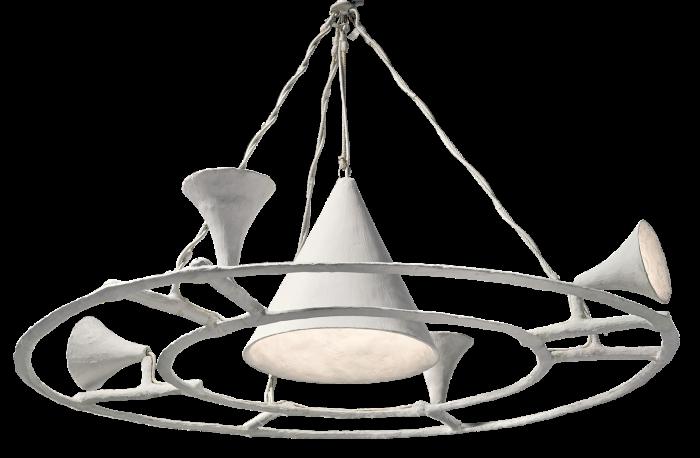 c1954 Alberto Giacometti chandelier, sold for £2,045,000 atPhillips