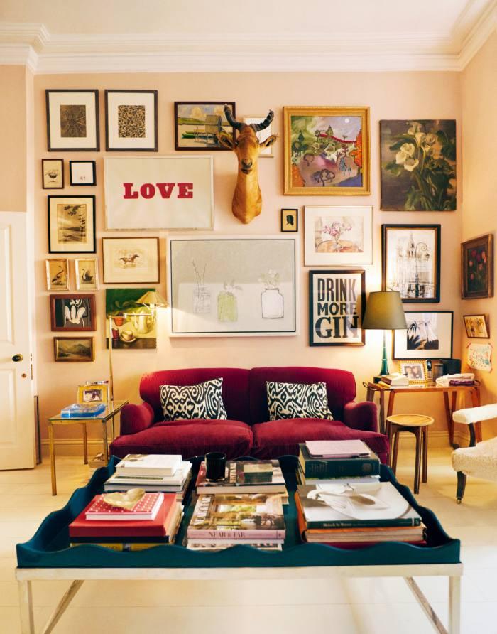 Konig's sitting room
