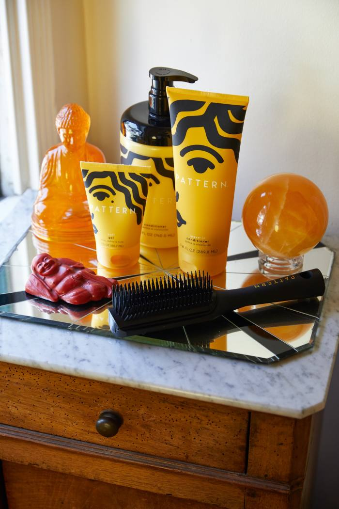 Products from Ross's Pattern haircare brand