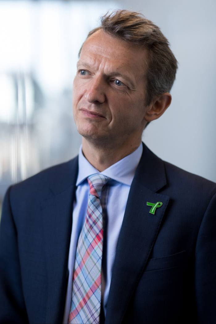 Andy Haldane, chief economist at the Bank of England, says there is a 'huge need' for the expertise concentrated in the City of London to be shared across the UK and around the world