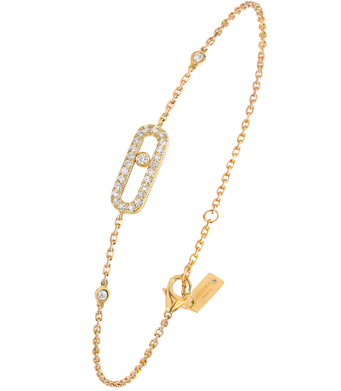 Messika gold and diamond Move bracelet, £1,440