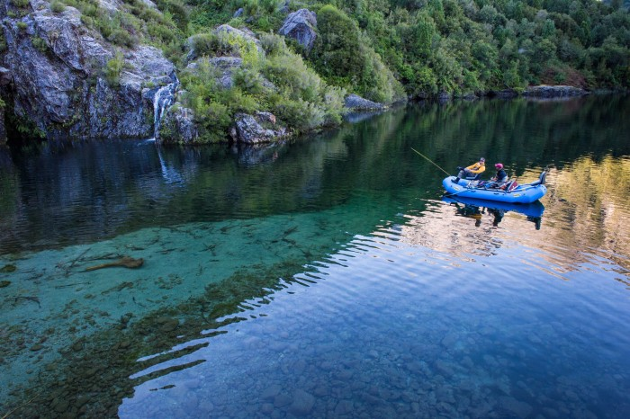 Atmosphere's fishing excursions will take in the Patagonian archipelago, supported by jetboats and helicopters