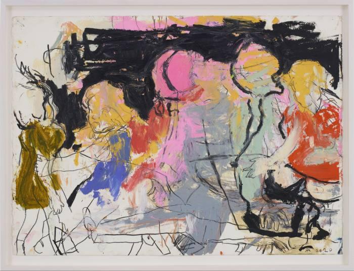Mama Study 8, 2020, by Rita Ackermann